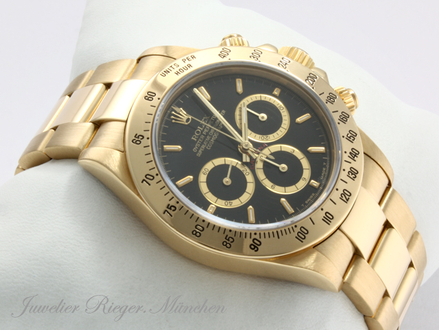 exklusive rolex daytona chronograph gold 750 ebay. Black Bedroom Furniture Sets. Home Design Ideas