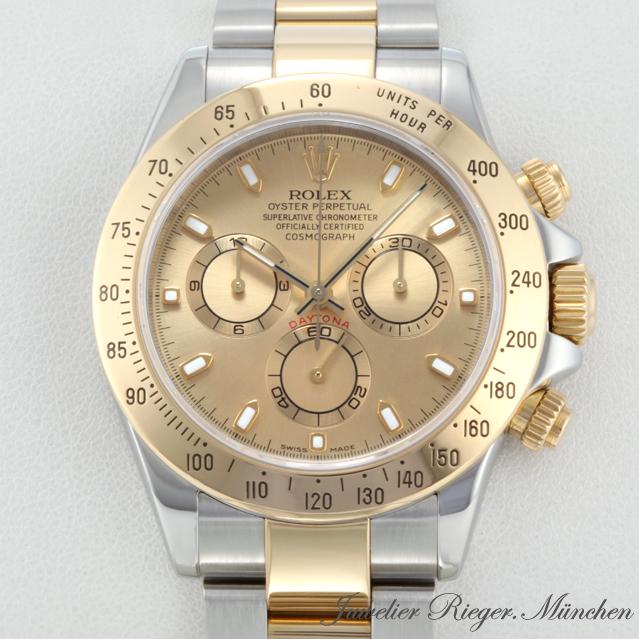 rolex uhr daytona stahl gold 750 ref 116523 chronograph. Black Bedroom Furniture Sets. Home Design Ideas