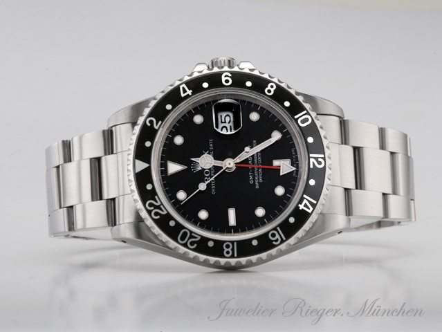 rolex uhr gmt master stahl automatik 1 herren armbanduhr. Black Bedroom Furniture Sets. Home Design Ideas
